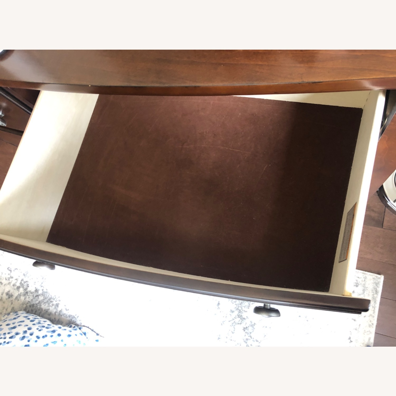 Raymour and Flanigan Merlot Dresser - image-3