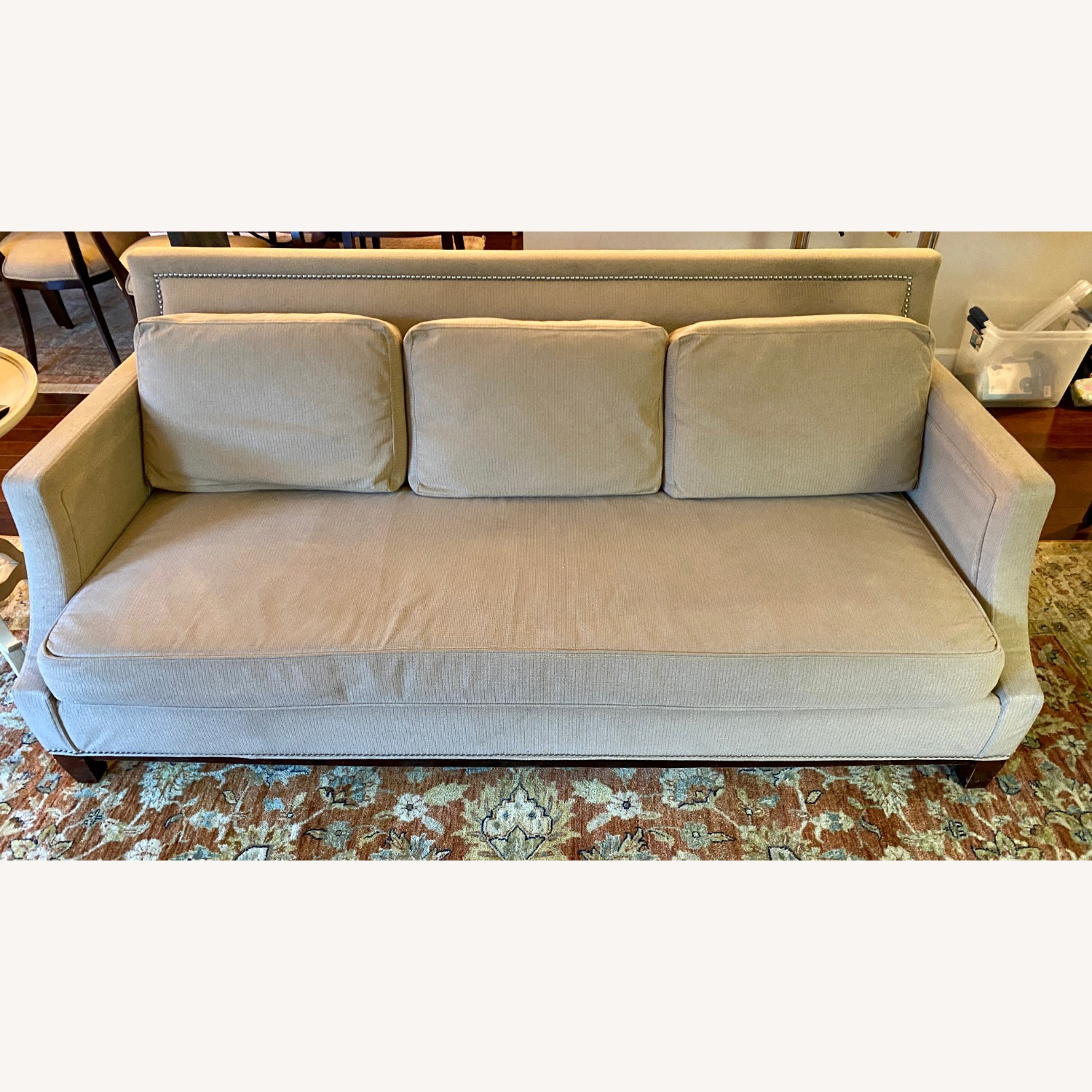 Robert Allen Design Cooper Sofa in Tan - image-1