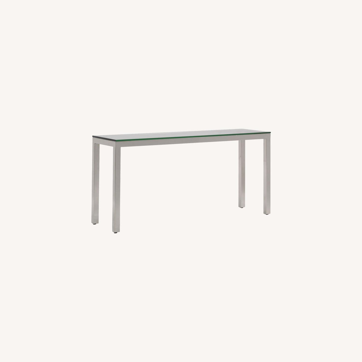 Mitchell Gold + Bob Williams Parsons Console Table - image-0