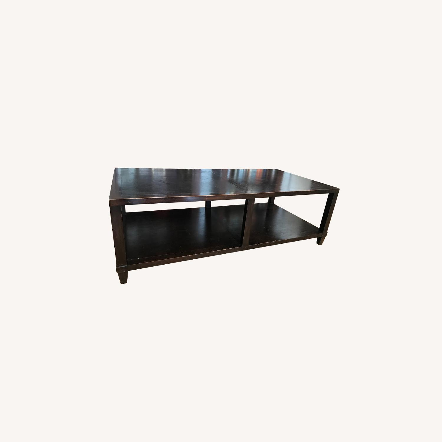 Crate & Barrel Coffe Table - image-0