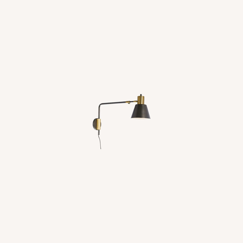 West Elm Adjustable Wall Lamp - image-0