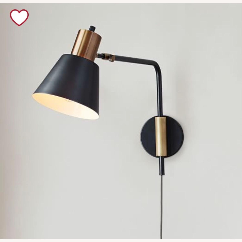 West Elm Adjustable Wall Lamp - image-1