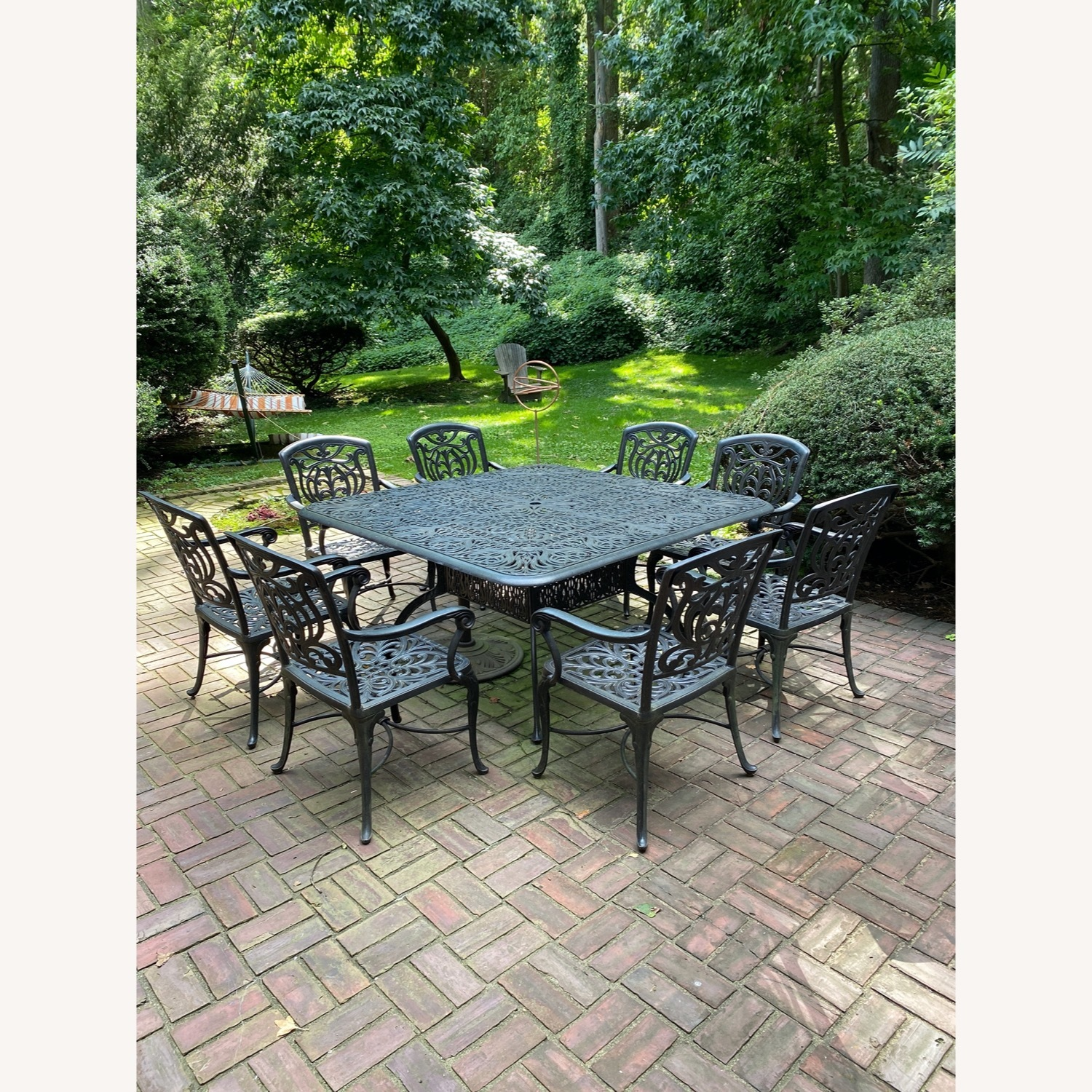 Fortunoff Outdoor Dining Set with 8 Chairs - image-1