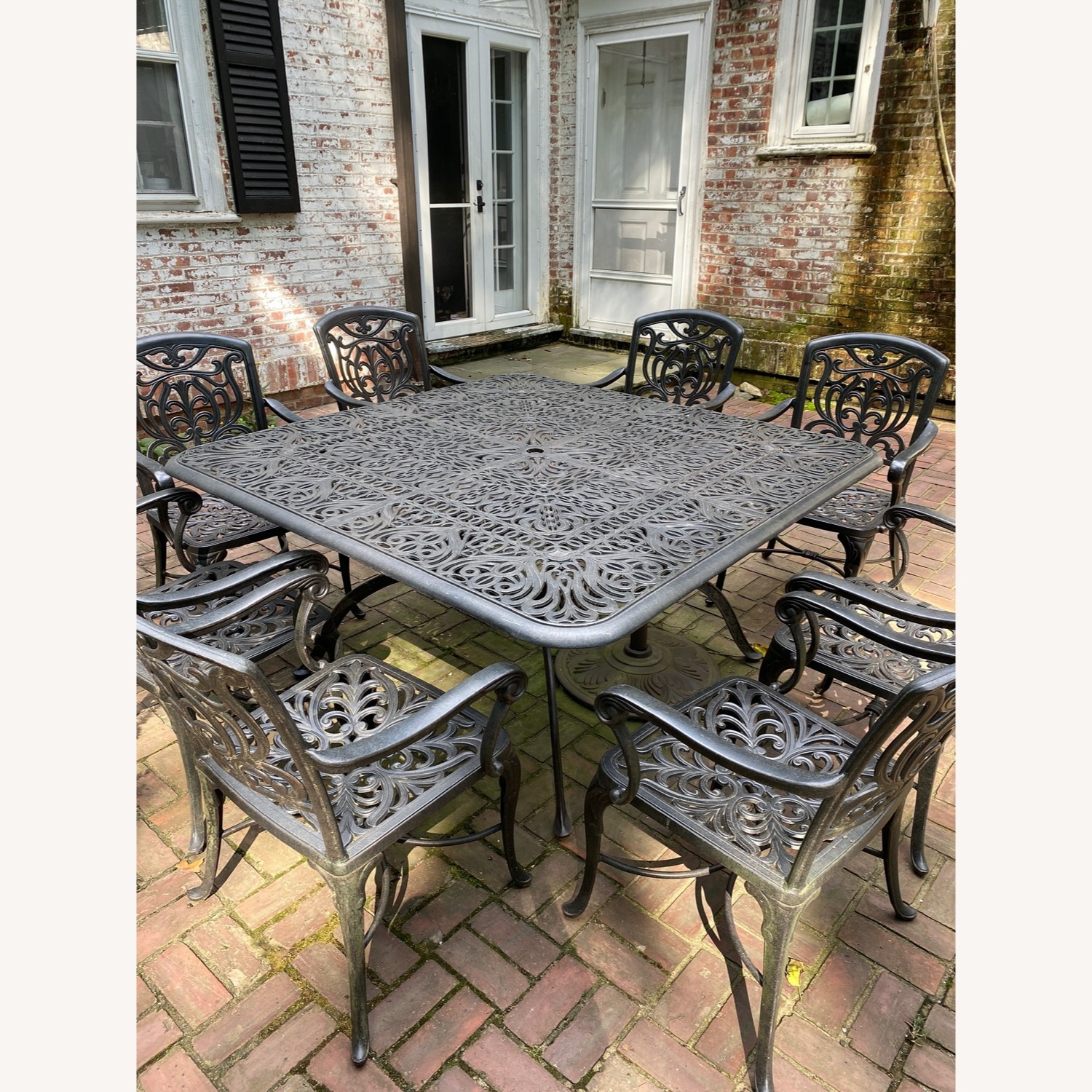 Fortunoff Outdoor Dining Set with 8 Chairs - image-4