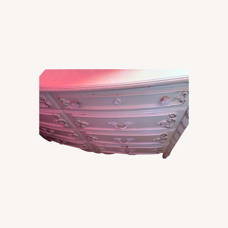 Coaster Fine Furniture White Dresser w/ Mirror - image-9