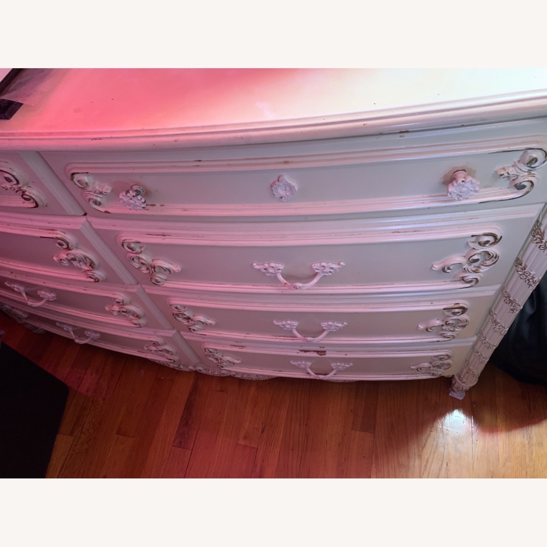 Coaster Fine Furniture White Dresser w/ Mirror - image-5