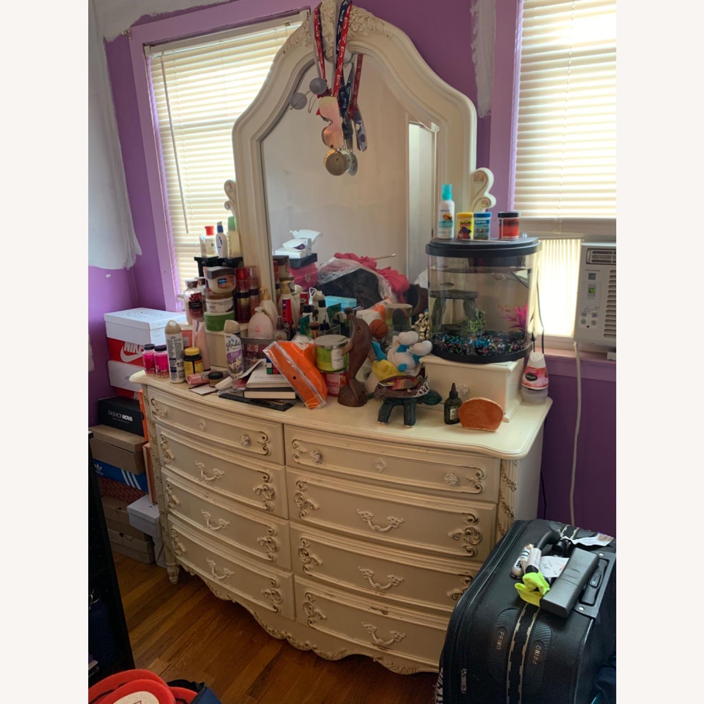 Coaster Fine Furniture White Dresser w/ Mirror - image-0