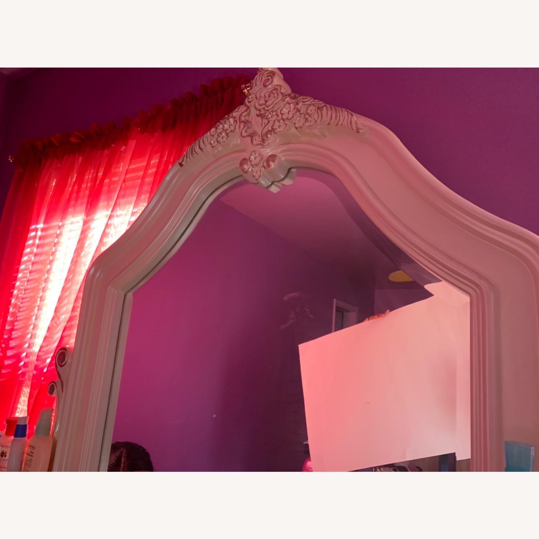 Coaster Fine Furniture White Dresser w/ Mirror - image-8