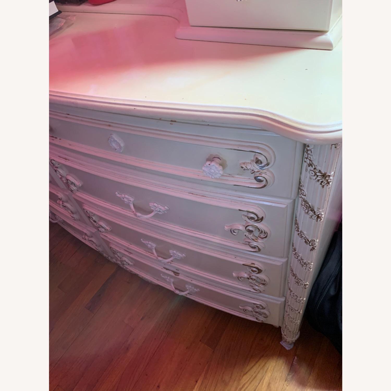 Coaster Fine Furniture White Dresser w/ Mirror - image-4