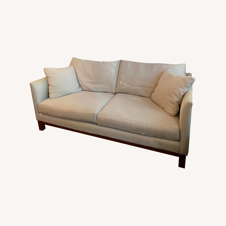 ABC Home Linen Brownstone Sofa - image-0
