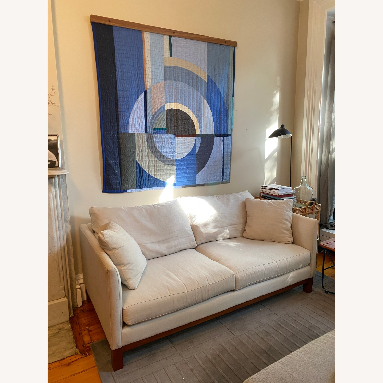 ABC Home Linen Brownstone Sofa - image-1