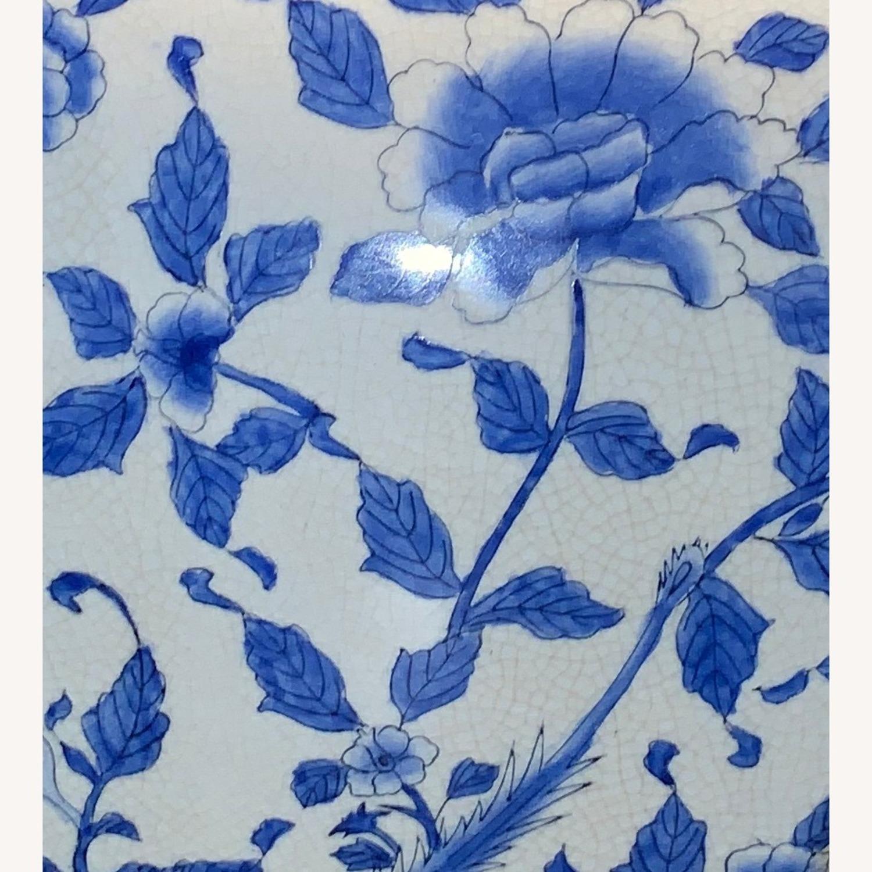 Ethan Allen Porcelain Jar with Lid - image-3