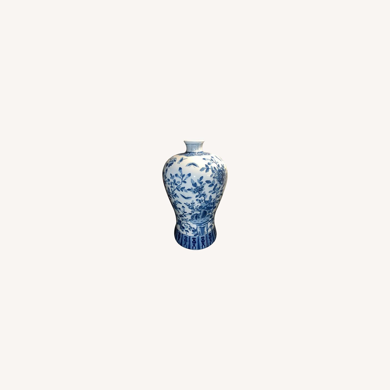 Ethan Allen Porcelain Jar - image-0