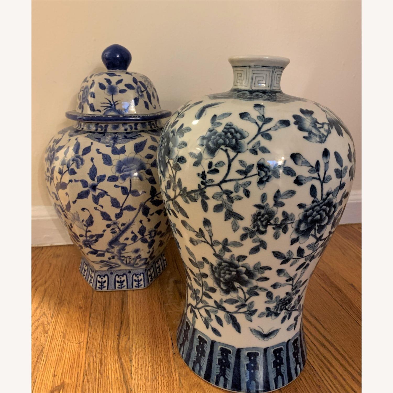 Ethan Allen Porcelain Jar - image-2