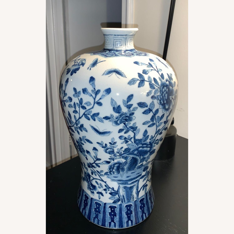 Ethan Allen Porcelain Jar - image-1