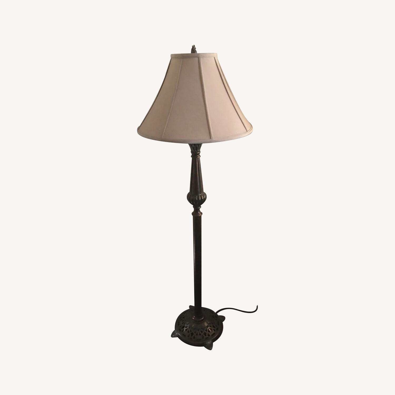 Copper Floor Lamp - image-0