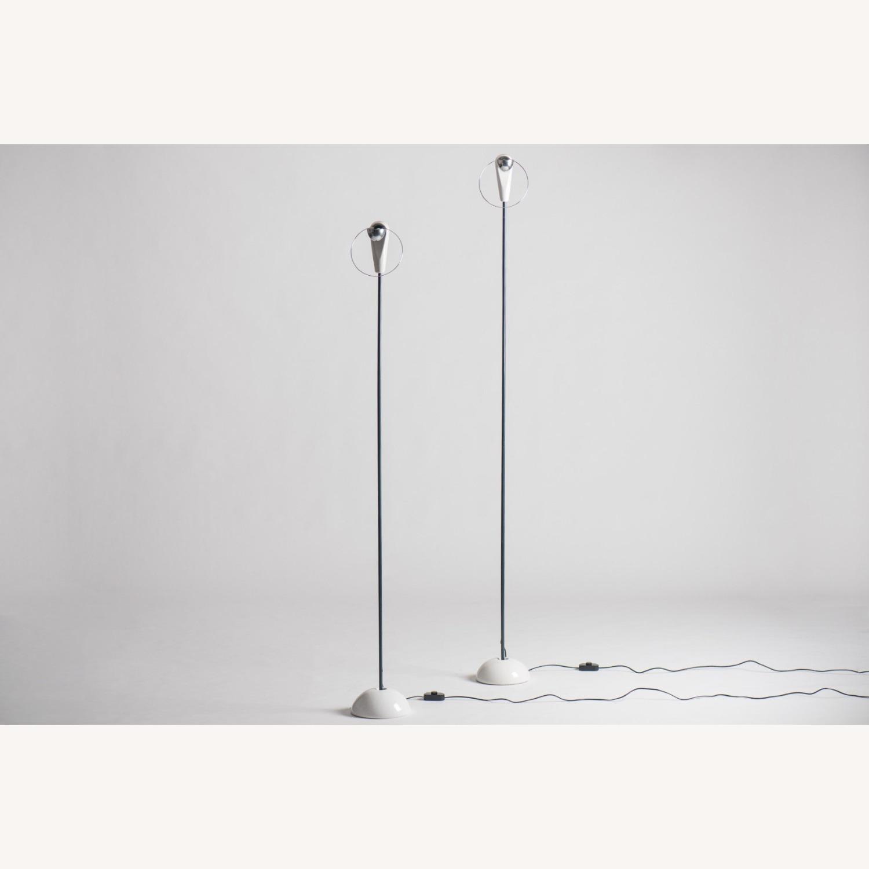Castiglioni Pair of Lamps Bip Bip Flos Vintage - image-1