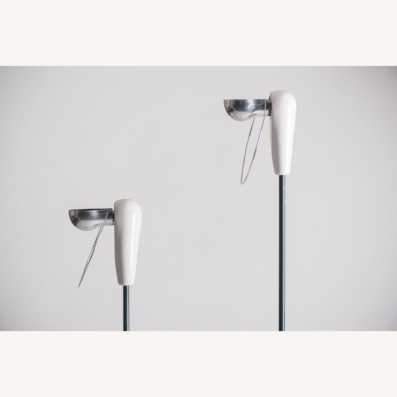 Castiglioni Pair of Lamps Bip Bip Flos Vintage - image-3