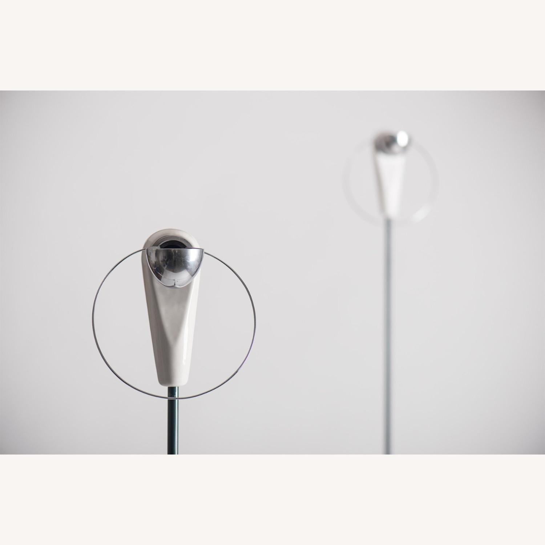 Castiglioni Pair of Lamps Bip Bip Flos Vintage - image-2