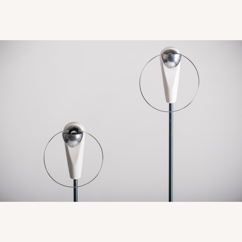 Castiglioni Pair of Lamps Bip Bip Flos Vintage - image-5