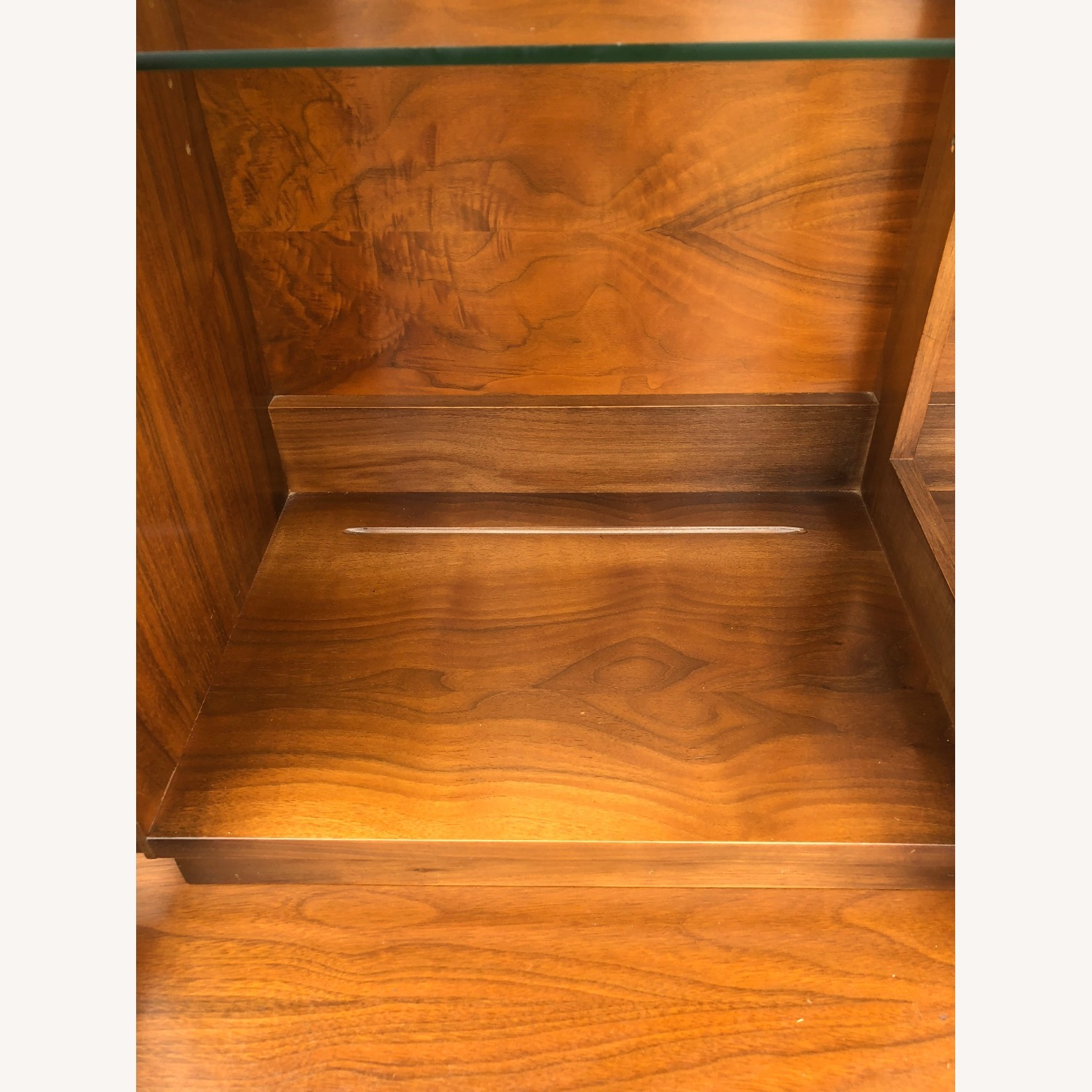 Mid Century China Cabinet with Glass Shelves - image-18