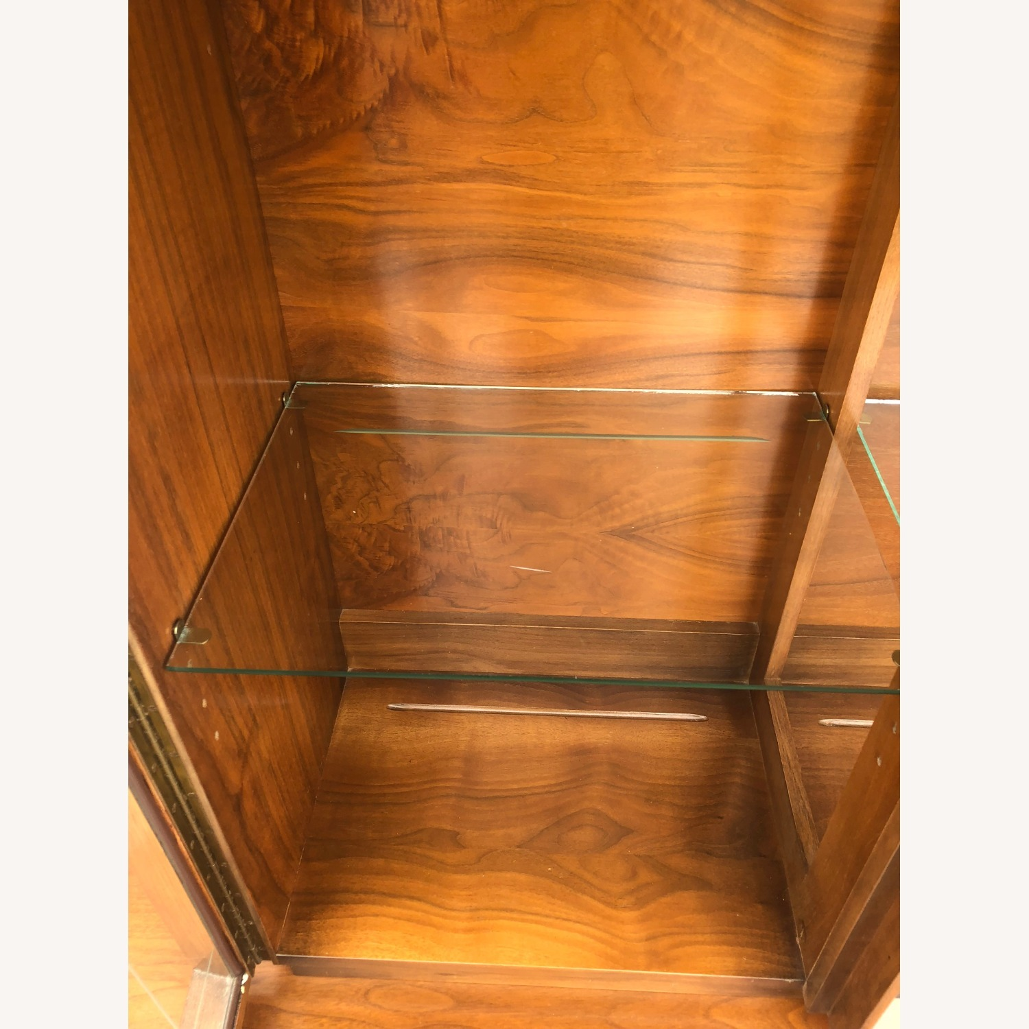 Mid Century China Cabinet with Glass Shelves - image-17