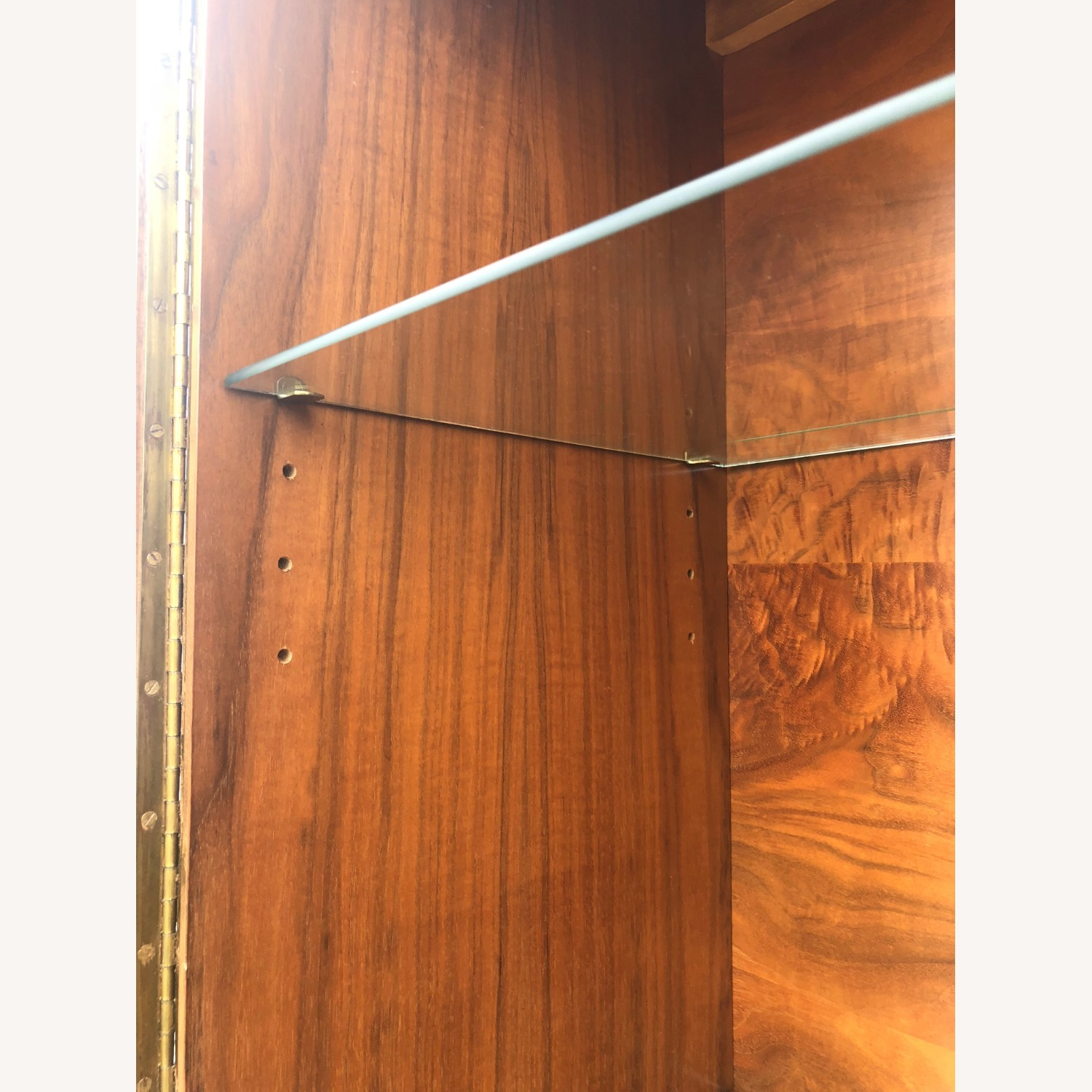 Mid Century China Cabinet with Glass Shelves - image-16