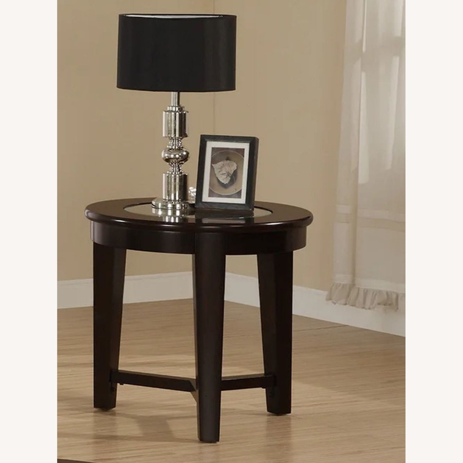3-Piece Occasional Set In Cappuccino Finish - image-2