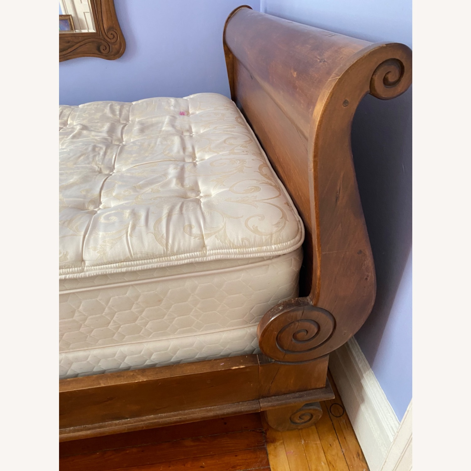 ABC Carpet Solid Walnut Sleigh Bed - image-4
