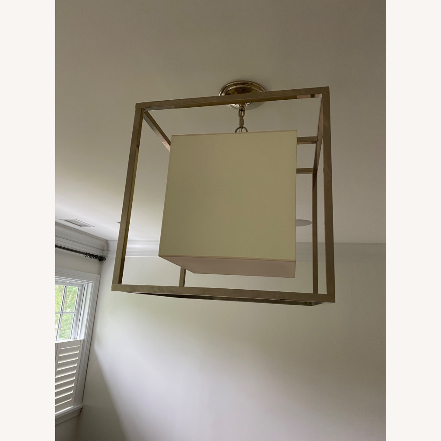 Visual Comfort Caged Ceiling Light - image-2