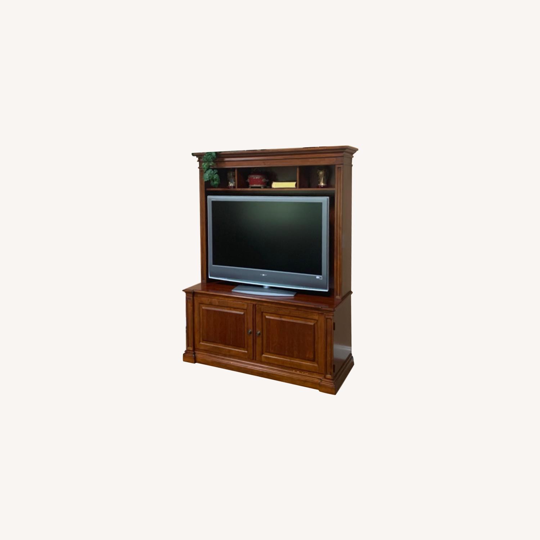 Ethan Allen Media Cabinet - image-0
