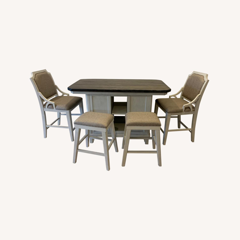 Peter Andrews Kitchen Island Dining Set - image-0