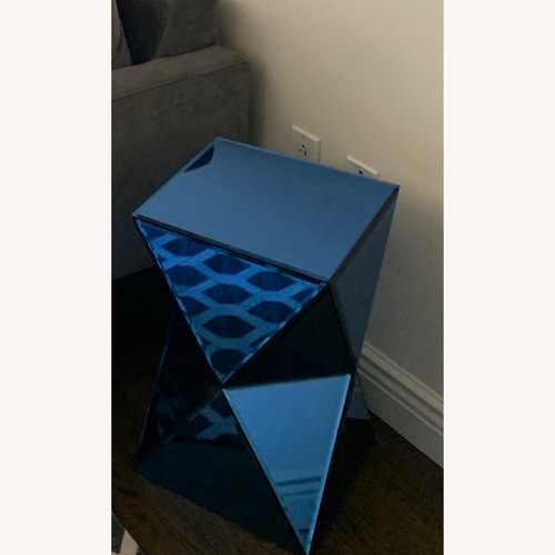 Used Bungalow 5 Sapphire Blue Side Tables for sale on AptDeco