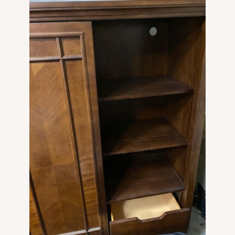 Bob's Furniture Dark Brown Gentleman's Chest - image-4