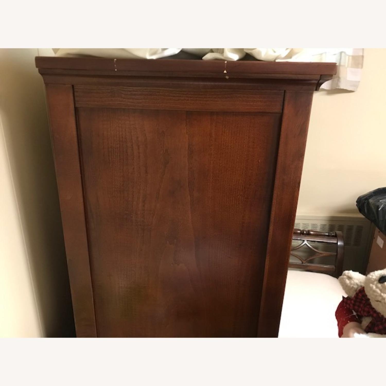 Bob's Furniture Dark Brown Gentleman's Chest - image-2