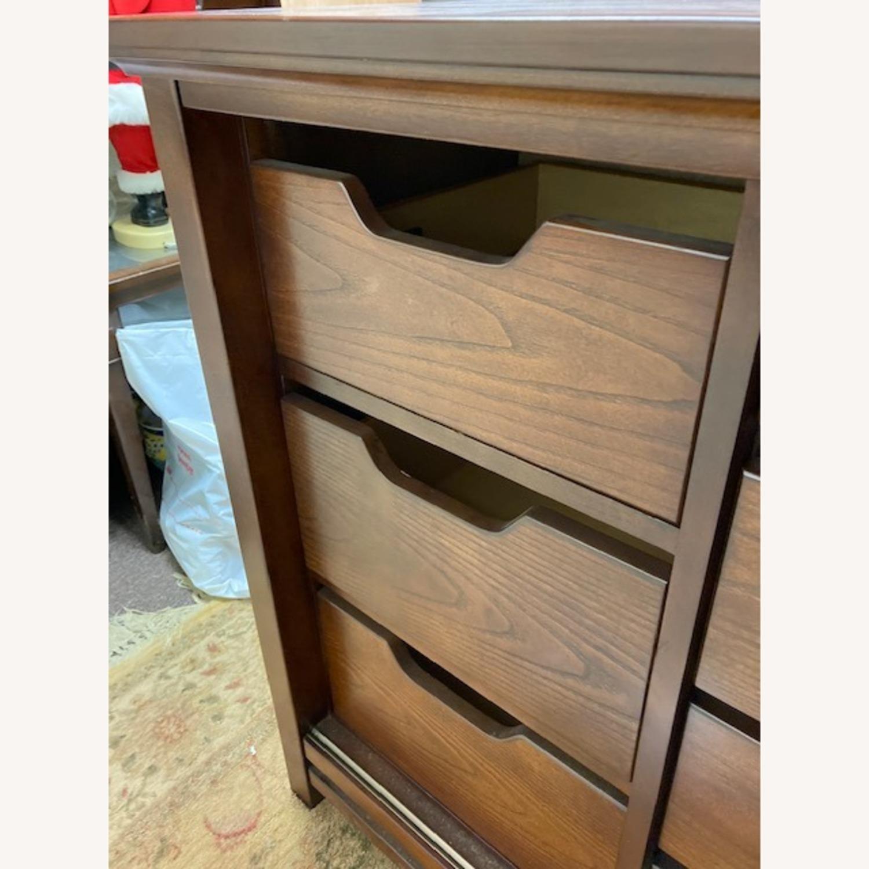 Bob's Furniture Dark Brown Dresser - image-5