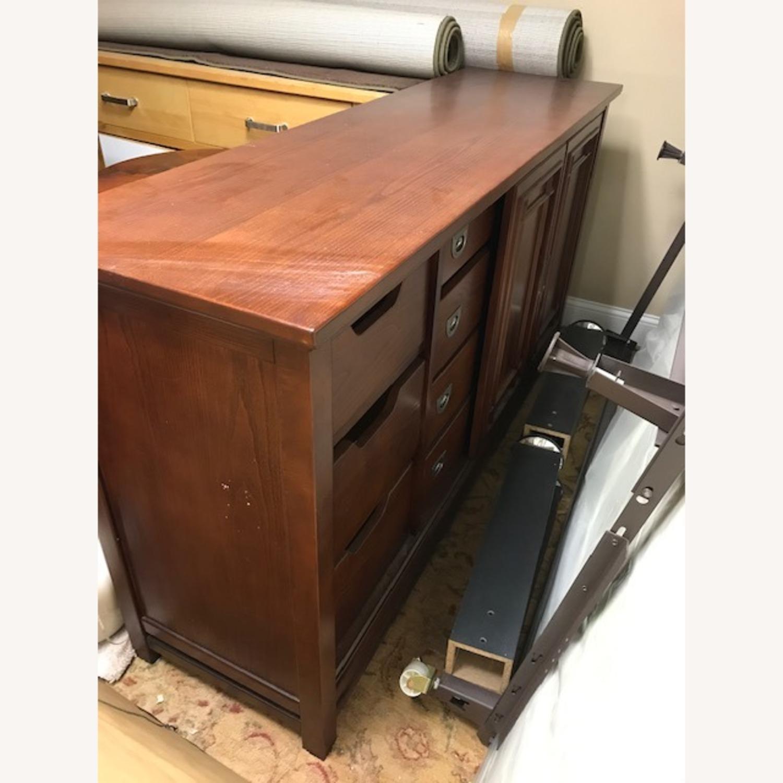 Bob's Furniture Dark Brown Dresser - image-2