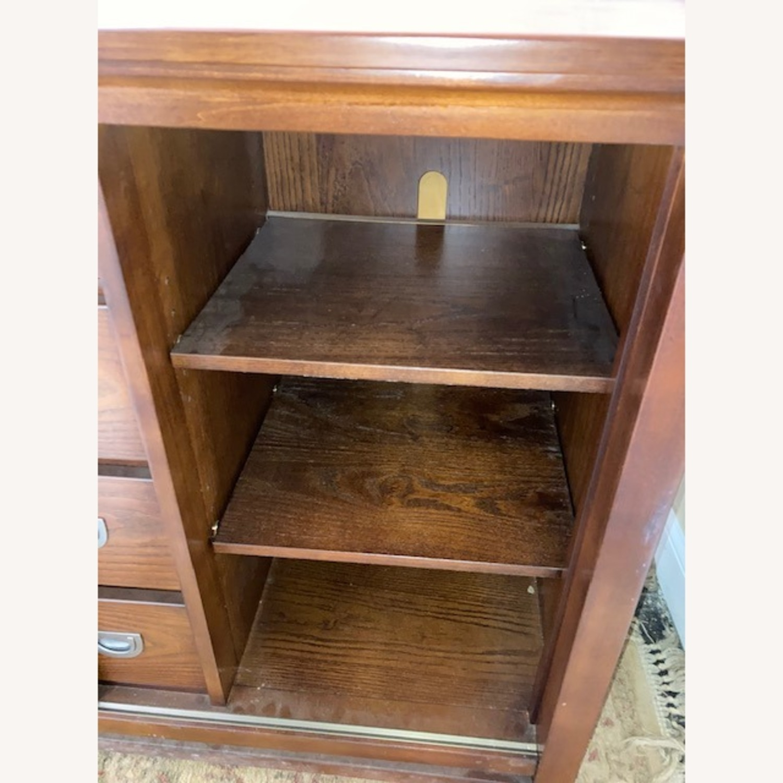 Bob's Furniture Dark Brown Dresser - image-7