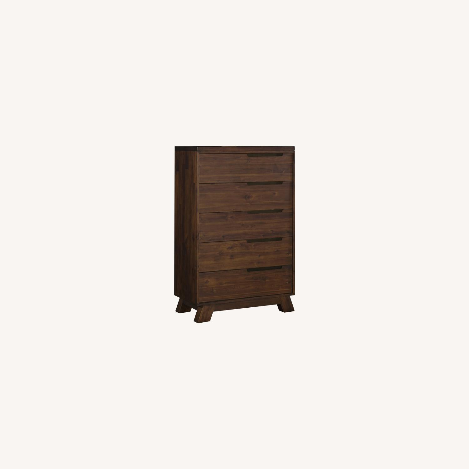 Modus Furniture Solid Wood 5 Drawer Chest - image-0