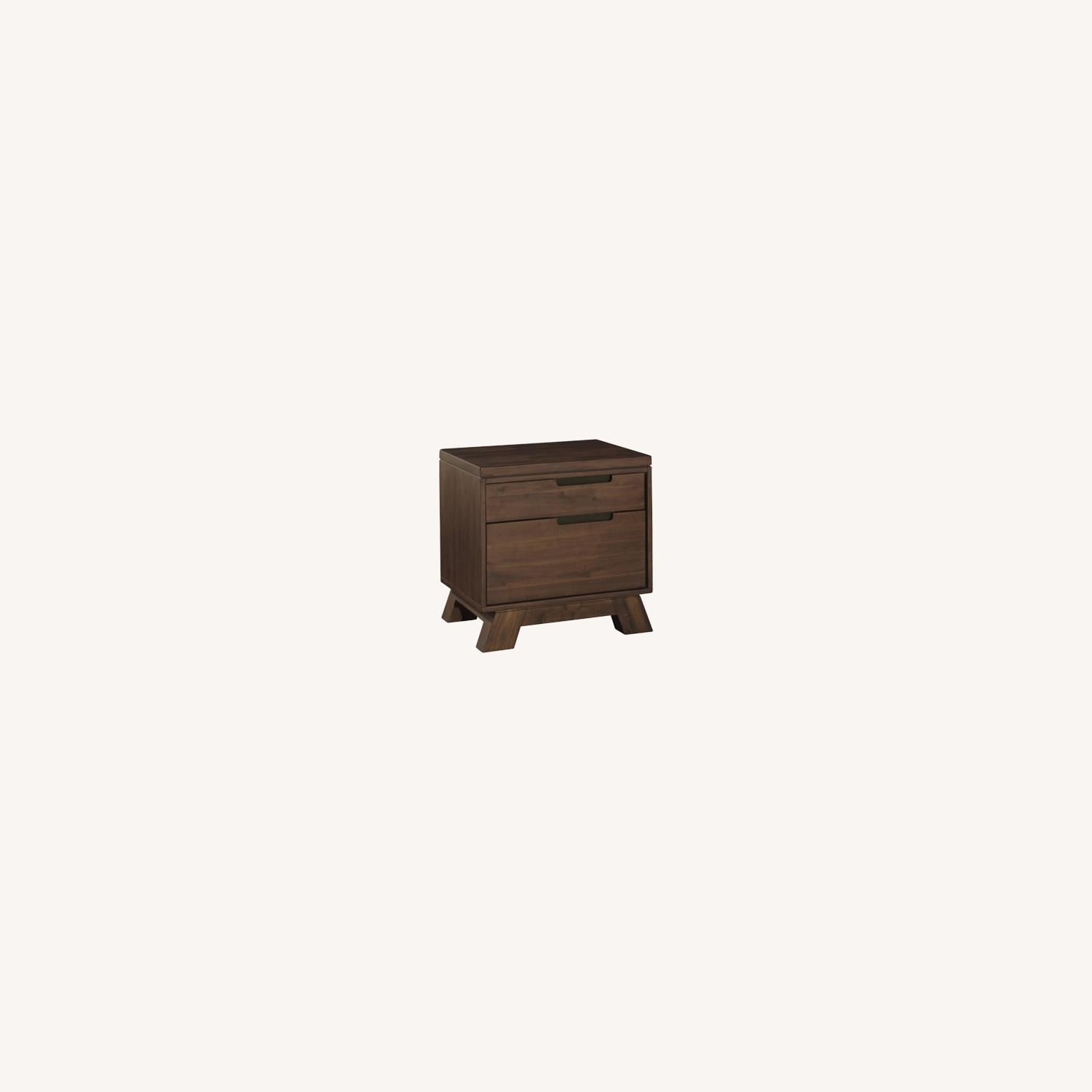 Modus Furniture Solid Wood 2 Drawer Nightstand - image-0