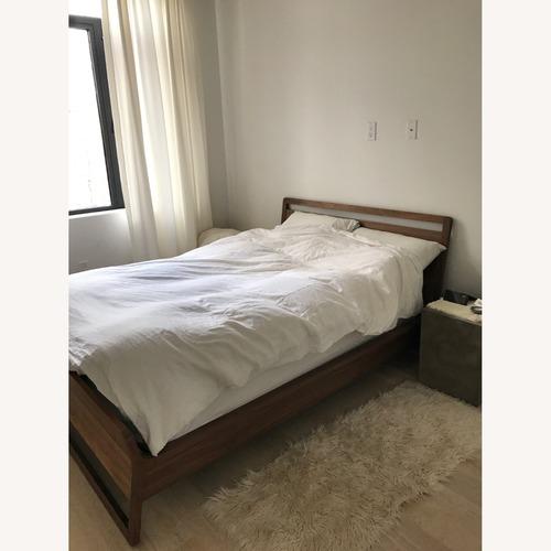 Used Blu Dot Woodrow Walnut Full Size Bed for sale on AptDeco