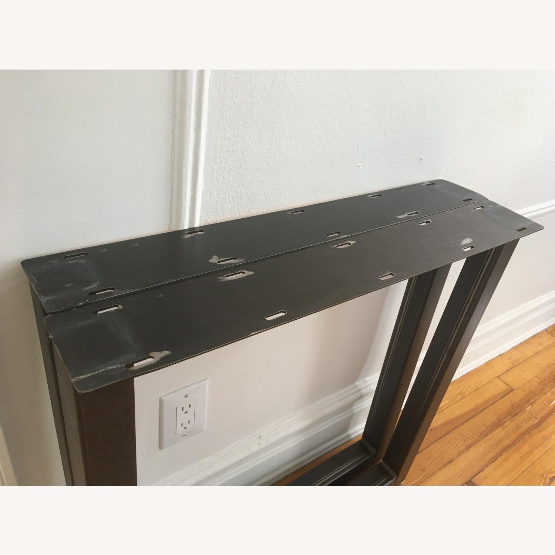 Handmade Heavy Duty Square Style Metal Table Legs - image-2