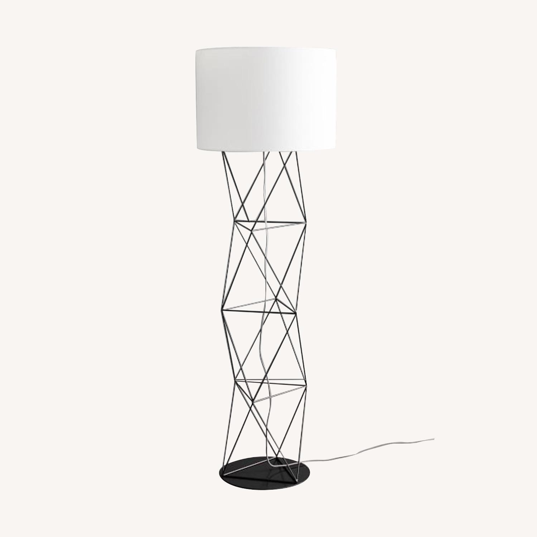 West Elm Amigo Modern Octahedron Floor Lamp - image-0