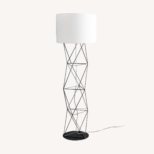 Used West Elm Amigo Modern Octahedron Floor Lamp for sale on AptDeco