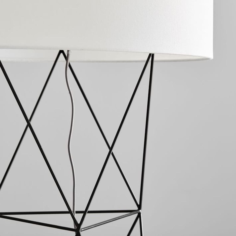 West Elm Amigo Modern Octahedron Floor Lamp - image-1