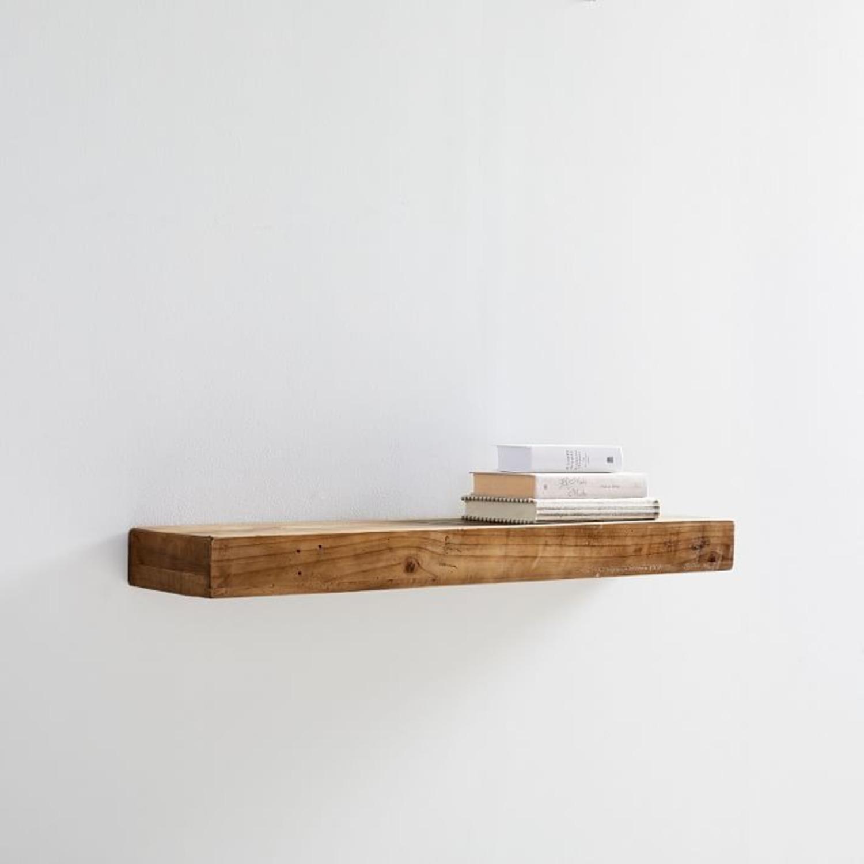 West Elm Reclaimed Wood Wall Shelf - image-1