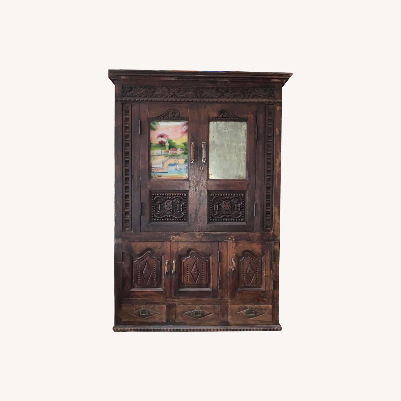 Antique Asian Armoire - image-0