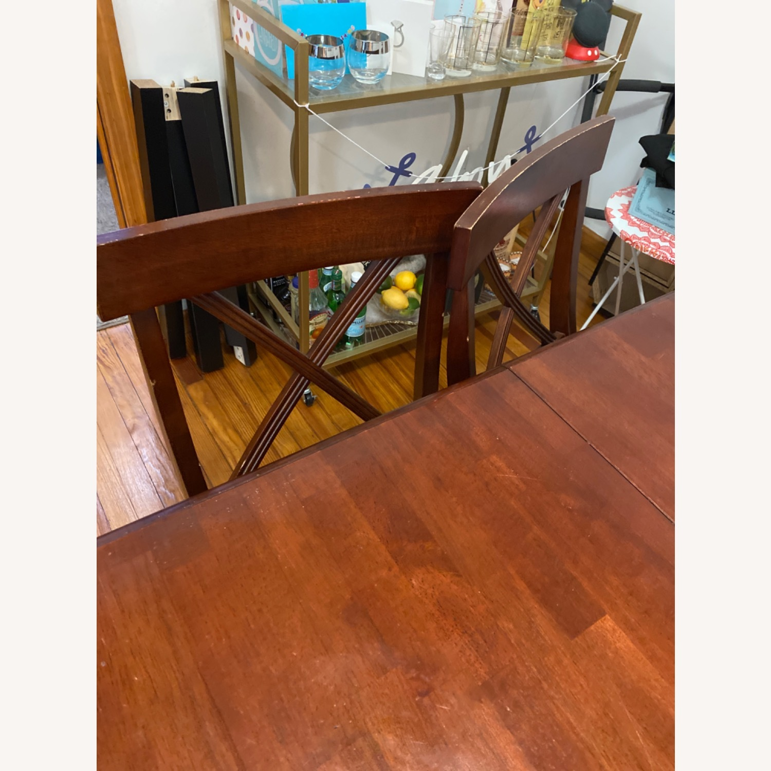 Pier One Imports Dining Set with Hidden Leaf - image-8