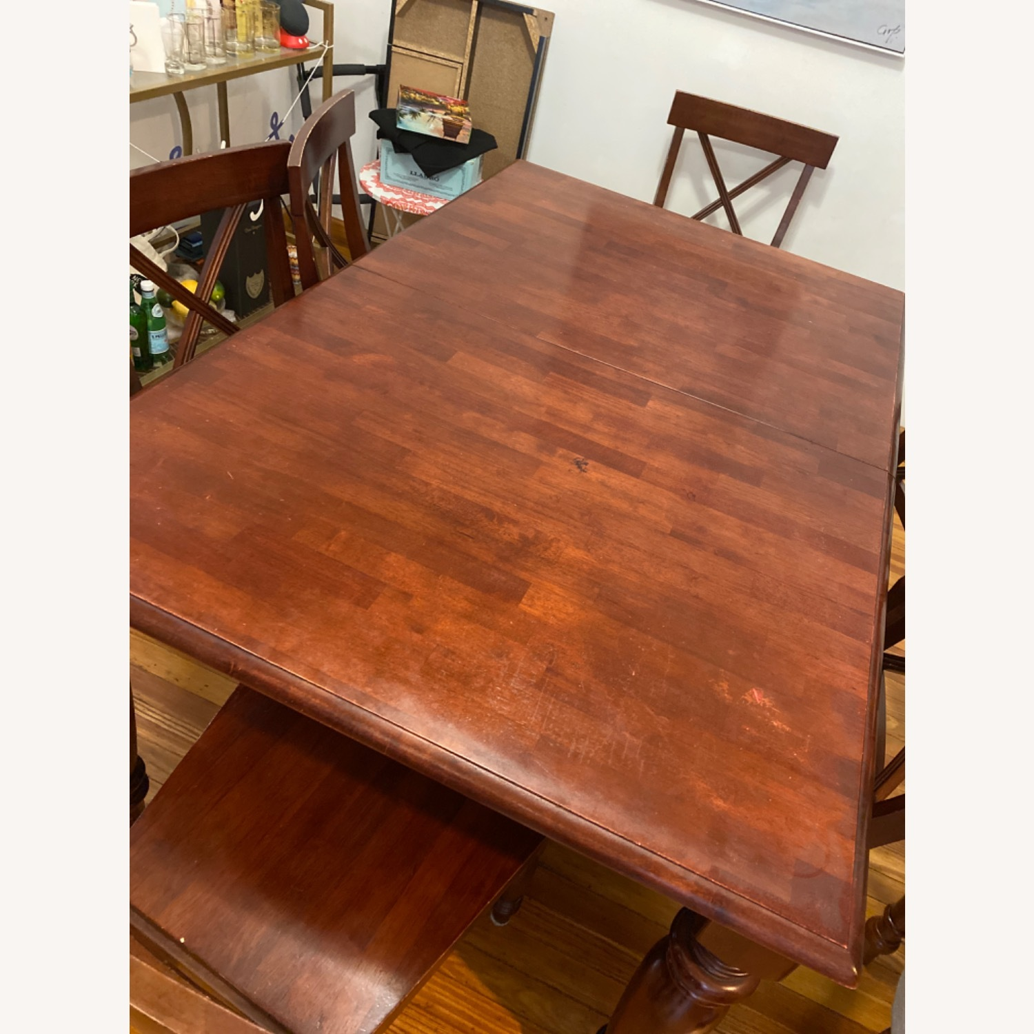 Pier One Imports Dining Set with Hidden Leaf - image-4