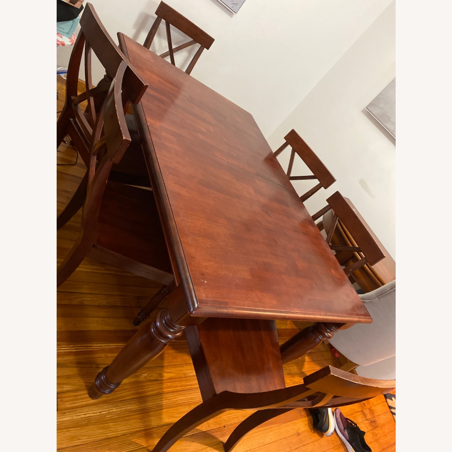 Pier One Imports Dining Set with Hidden Leaf - image-2